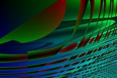 Computer generated desktop backgrounds. Computer generated desktop background poster Stock Photography