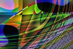 Computer generated desktop backgrounds Stock Photo
