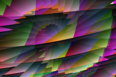 Computer generated desktop backgrounds Stock Images
