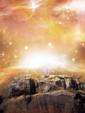 Distant Realm006 Royalty Free Stock Photography