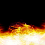 Computer generated fire Royalty Free Stock Photos