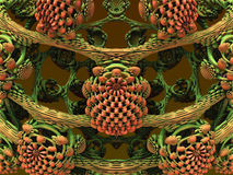 Computer generated fractal artwork Stock Photo