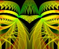Computer generated abstract colorful fractal artwork. For creative art,design and entertainment vector illustration