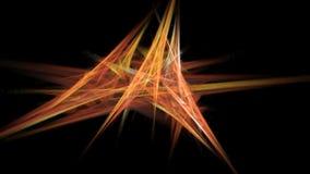 Computer generated fractal artwork for creative design stock video
