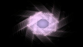 Computer generated fractal artwork for creative design. Art and entertainment royalty free illustration