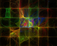 Computer Generated Fractal Image Stock Photography