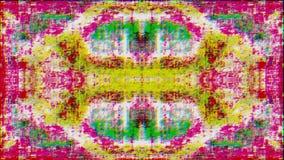 Computer generated futuristic clip, holographic bad signal video fx.