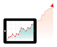 Computer generated graph Stock Photos