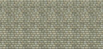 Block wall with a greenish tint. Computer generated image. Block wall with a green tint and grey mortar Stock Photography