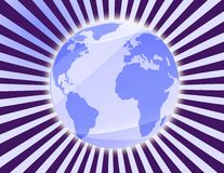 Computer generated mother earth Stock Photo