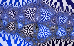 Computer generated patterns Stock Image