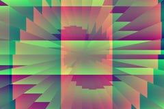 Computer geproduceerd abstract kunstwerk Stock Fotografie