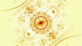 Computer geproduceerd fractal kunstwerk voor creatief ontwerp, kunst en vermaak vector illustratie