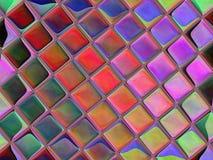 Computer geproduceerd kunstwerk voor creatief kunst, ontwerp en vermaak stock illustratie