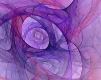 Computer geproduceerde fractal met een abstracte achtergrond Stock Foto