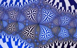 Computer geproduceerde patronen Stock Afbeelding