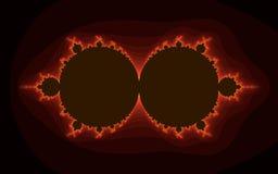 Computer geproduceerde patronen Stock Foto