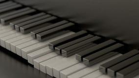 Computer geproduceerde pianosleutels vector illustratie