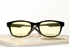 Computer glasses royalty free stock photos