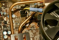 Computer-Grafikkarte lizenzfreies stockfoto