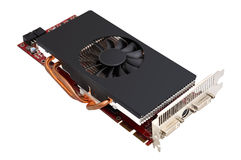 Computer graphic card Royalty Free Stock Photo