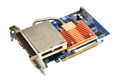 Computer graphic card Royalty Free Stock Image