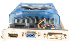 Computer Graphics card Stock Image