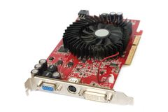 Computer Graphics Card Royalty Free Stock Photography