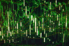 Computer green abstract  background Royalty Free Stock Image