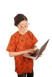 Computer Guru Royalty Free Stock Images