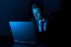 Computer hacker Stock Photos