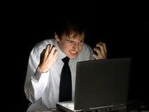 Computer hacker Stock Images
