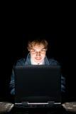 Computer hacker Royalty Free Stock Photo