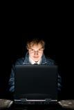 Computer hacker Stock Photos