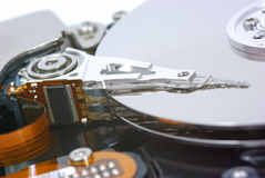 Computer hard disk Stock Photo