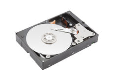 Computer hard disk. With clipping path Royalty Free Stock Photography