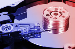 Computer hard disk Royalty Free Stock Images