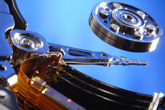 Computer hard disk Royalty Free Stock Photos