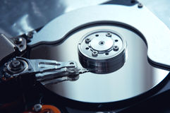 Computer hard disk Royalty Free Stock Photography