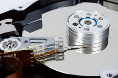Computer hard disk Stock Image