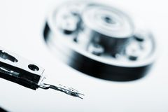 Computer hard disk drive Royalty Free Stock Photo