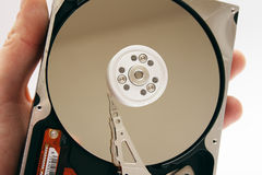 Computer Hard Disk Drive HDD Royalty Free Stock Photography