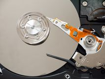 Computer hard disk Stock Images