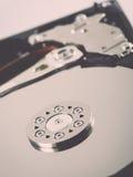 Computer hard disk drive - retro vintage effect Stock Image