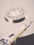 Computer hard disk drive - retro vintage effect Royalty Free Stock Photography