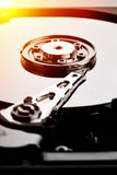 Computer hard disk  (HDD) Stock Photography