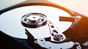 Computer hard disk  (HDD) Stock Photos