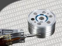 Computer hard disk Stock Photography