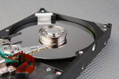 Computer hard drive detail Royalty Free Stock Photography