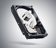 Computer hard drive. Royalty Free Stock Photo